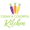 Clean & Colorful Kitchen
